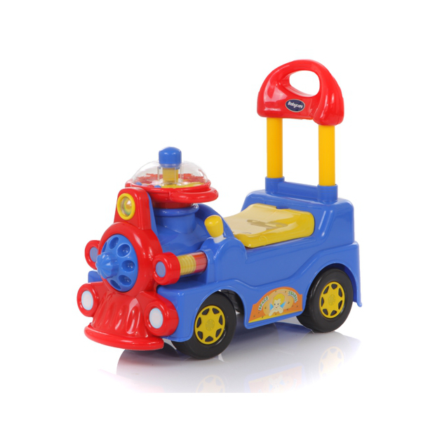 Каталка Baby Care Train Blue