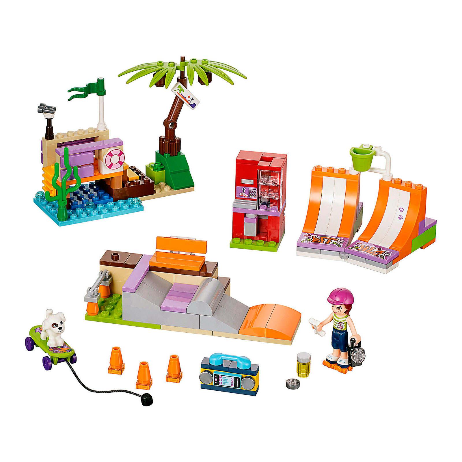 Конструктор LEGO Friends 41099 Скейт-парк<br>