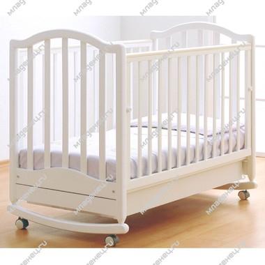Кроватка Гандылян Лейла Белая