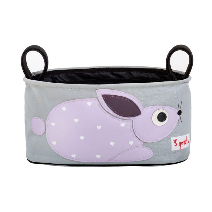 Сумка-органайзер для коляски 3 Sprouts Кролик (Purple Rabbit) Арт. 72850<br>