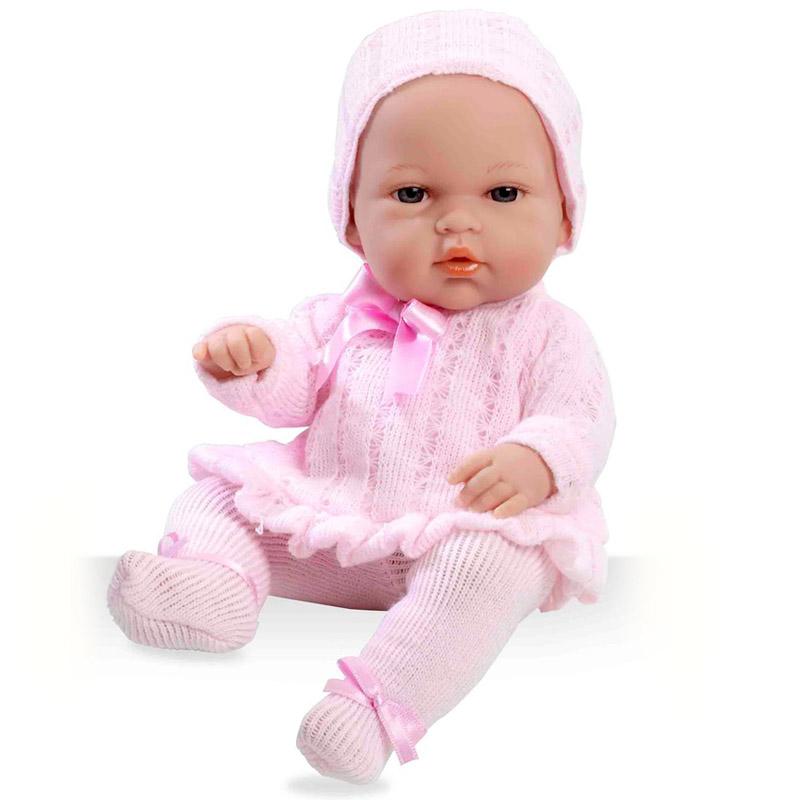 Кукла Arias 33 см Пупс в розовых колготах и шапочке<br>
