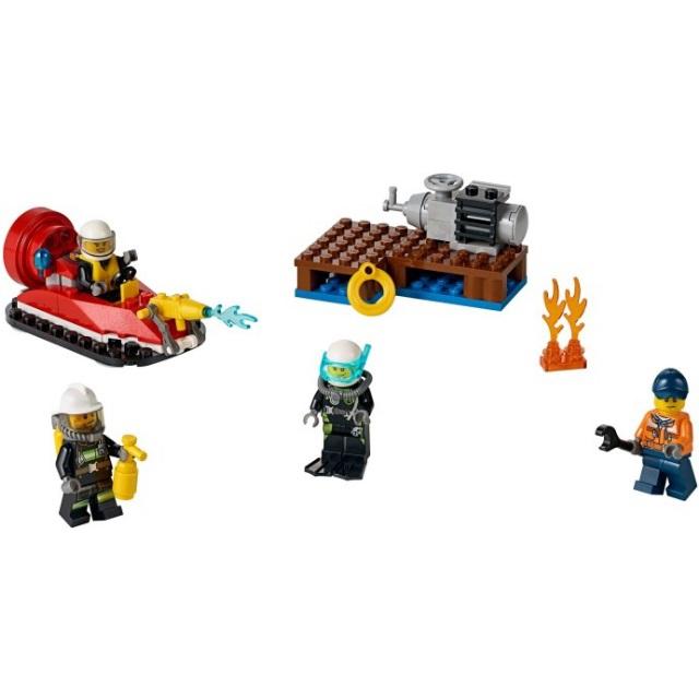 Конструктор LEGO City 60106 Набор для начинающих: Пожарная охрана<br>