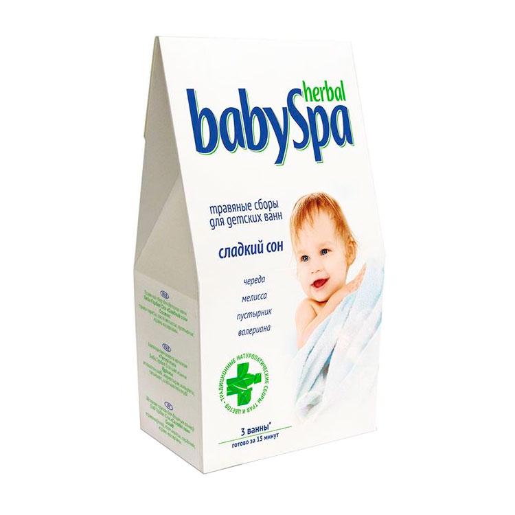 Травяной сбор Herbal Baby Spa Сладкий сон 45 гр<br>
