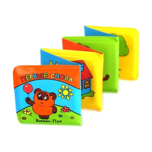Книга-раскладушка Умка для ванной Первые слова Винни-Пух<br>