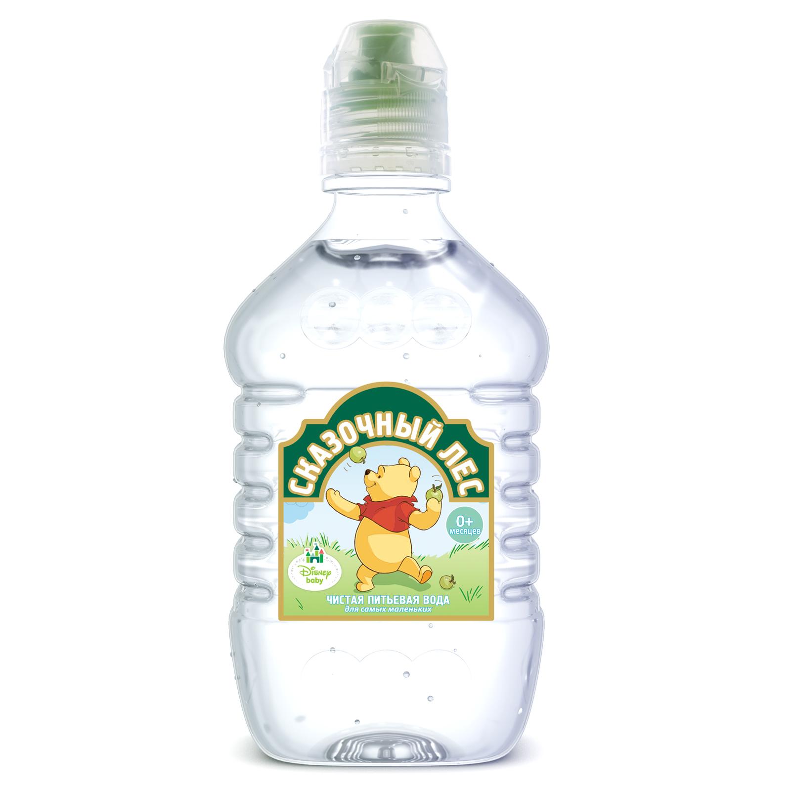 Вода детская Сказочный лес 0.4 л (Шишкин лес)