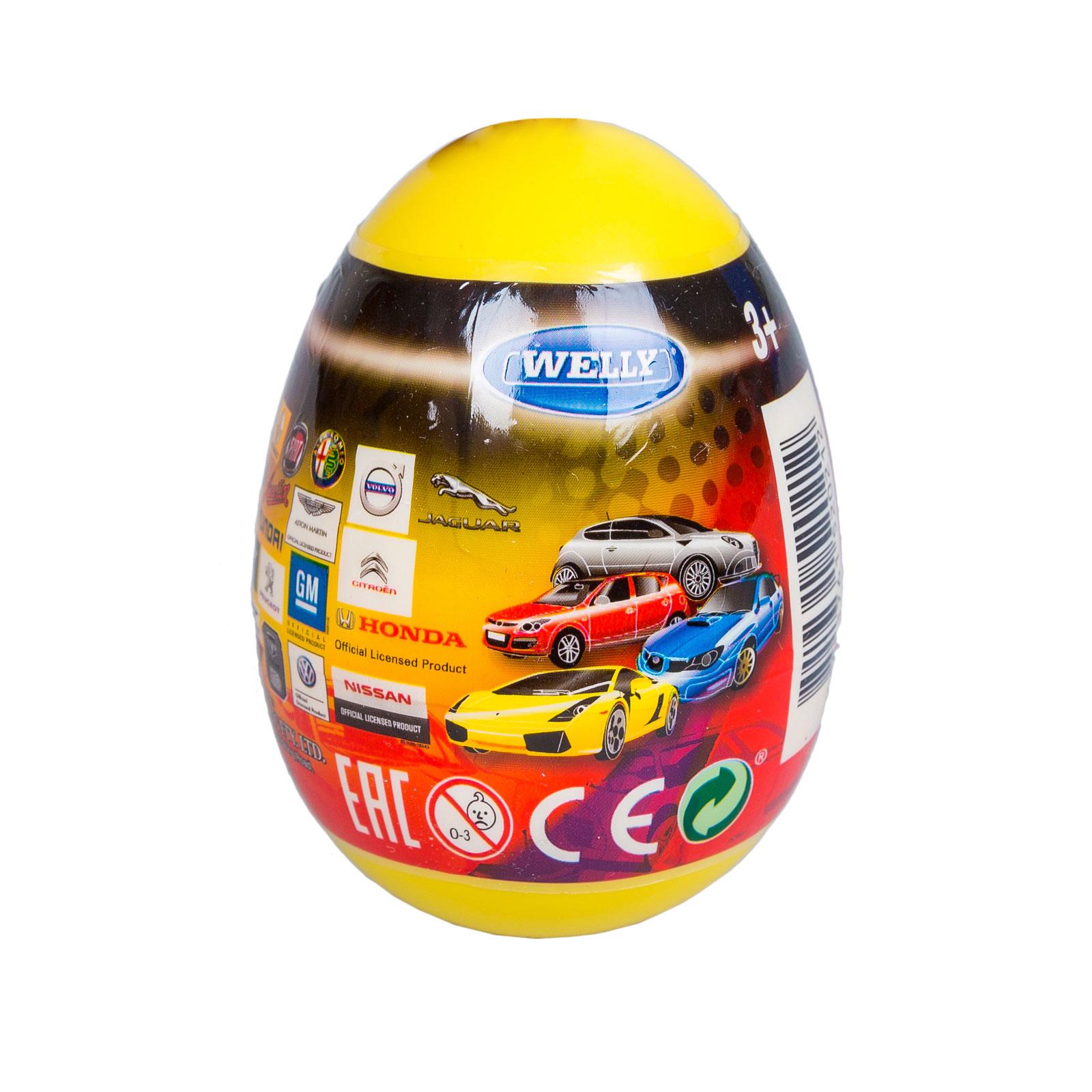 Машинка Welly Яйцо-сюрприз модель машины (1:60)<br>