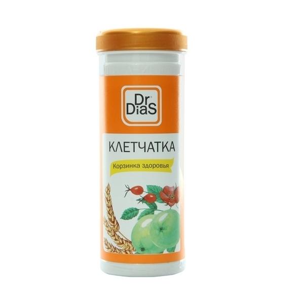 Клетчатка Dr.DiaS 170 гр Корзинка Здоровья (груша,яблоко,шиповник,кедровый орех)<br>