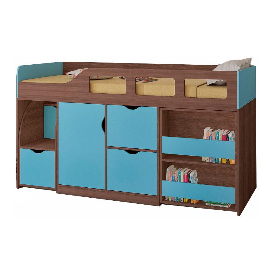 Набор мебели РВ-Мебель Астра 8 Дуб шамони/Голубой<br>