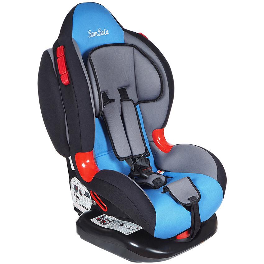 Автокресло Bambola Navigator IsoFix Серый с голубым<br>