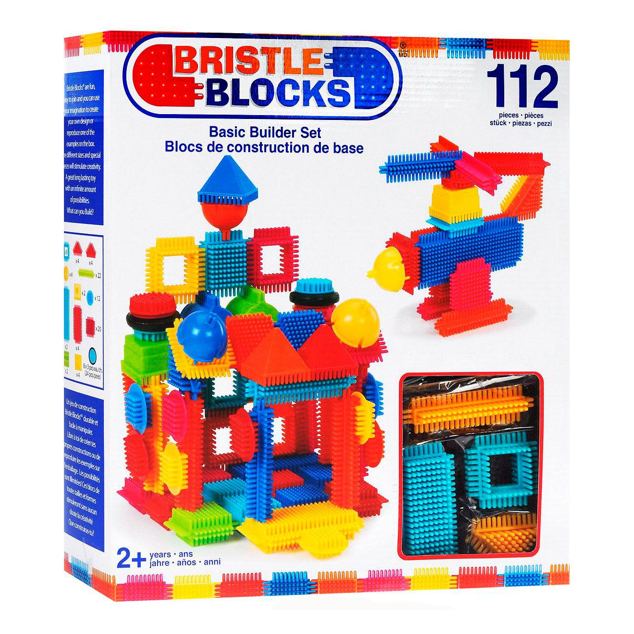 Конструктор Bristle Blocks 112 деталей в коробке<br>