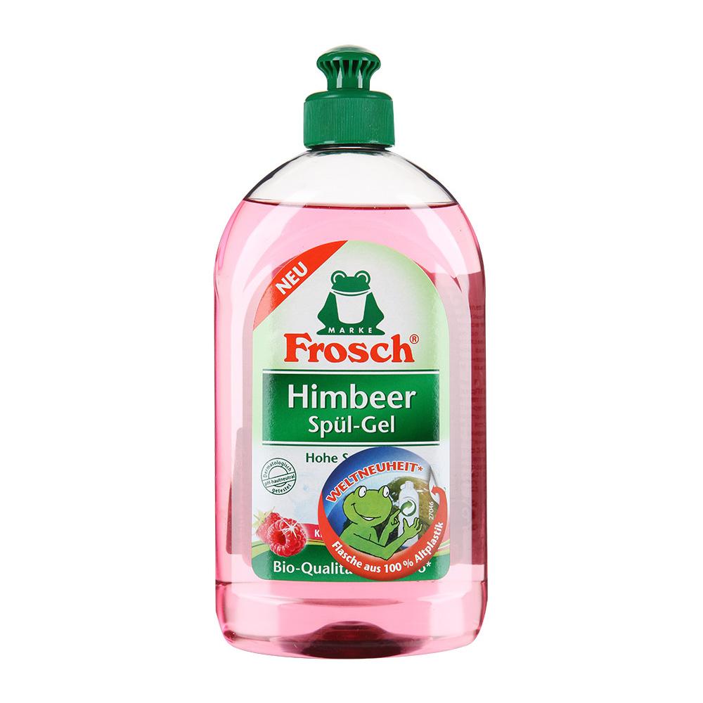 Гель для мытья посуды Frosch малина 500 мл<br>