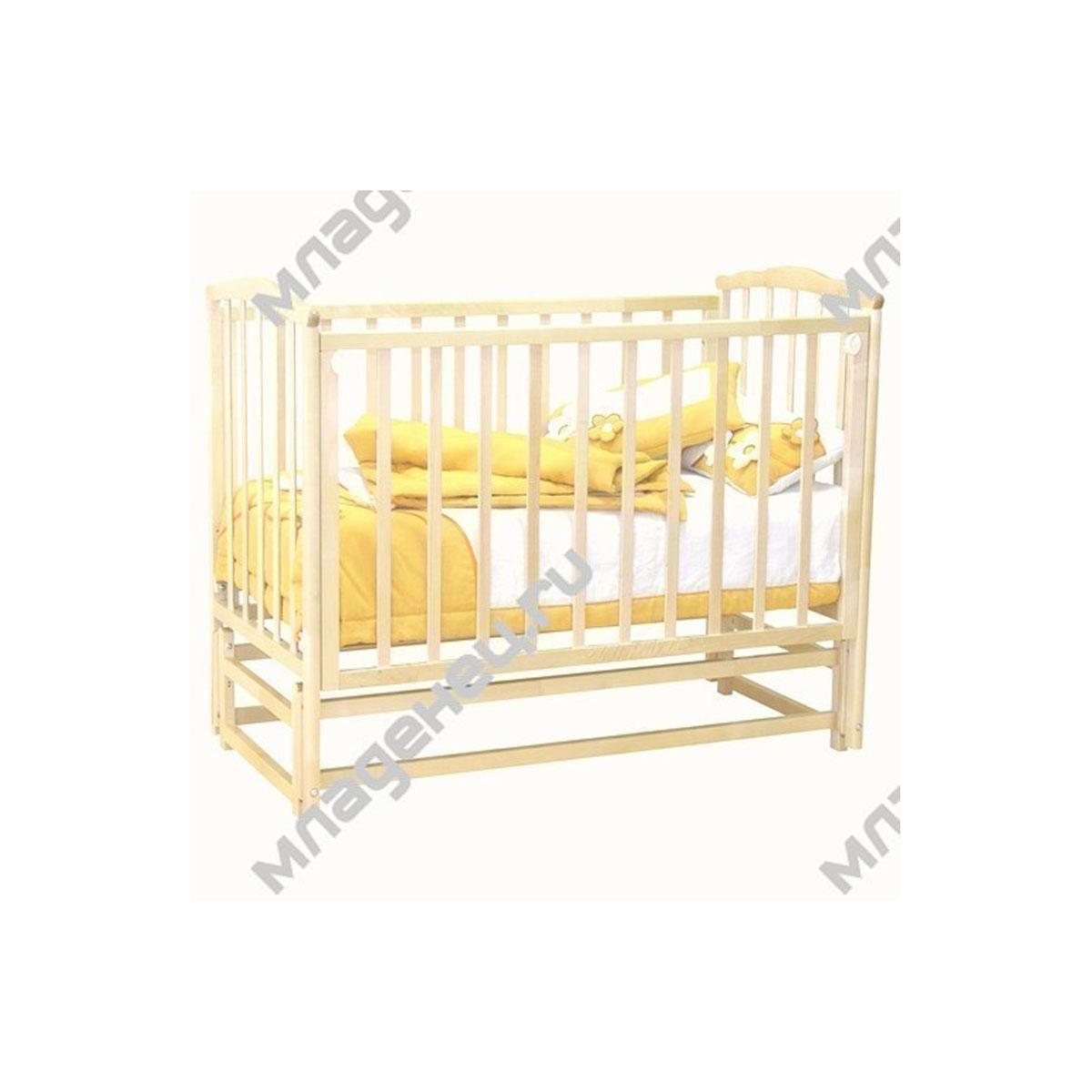 Кроватка Можга Кристина С619 Слоновая кость<br>