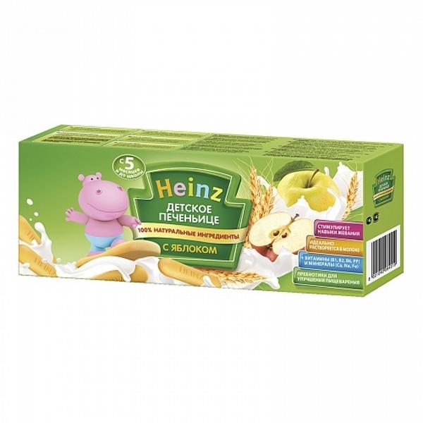 Печенье Heinz 160 гр Яблоко (с 5 мес)