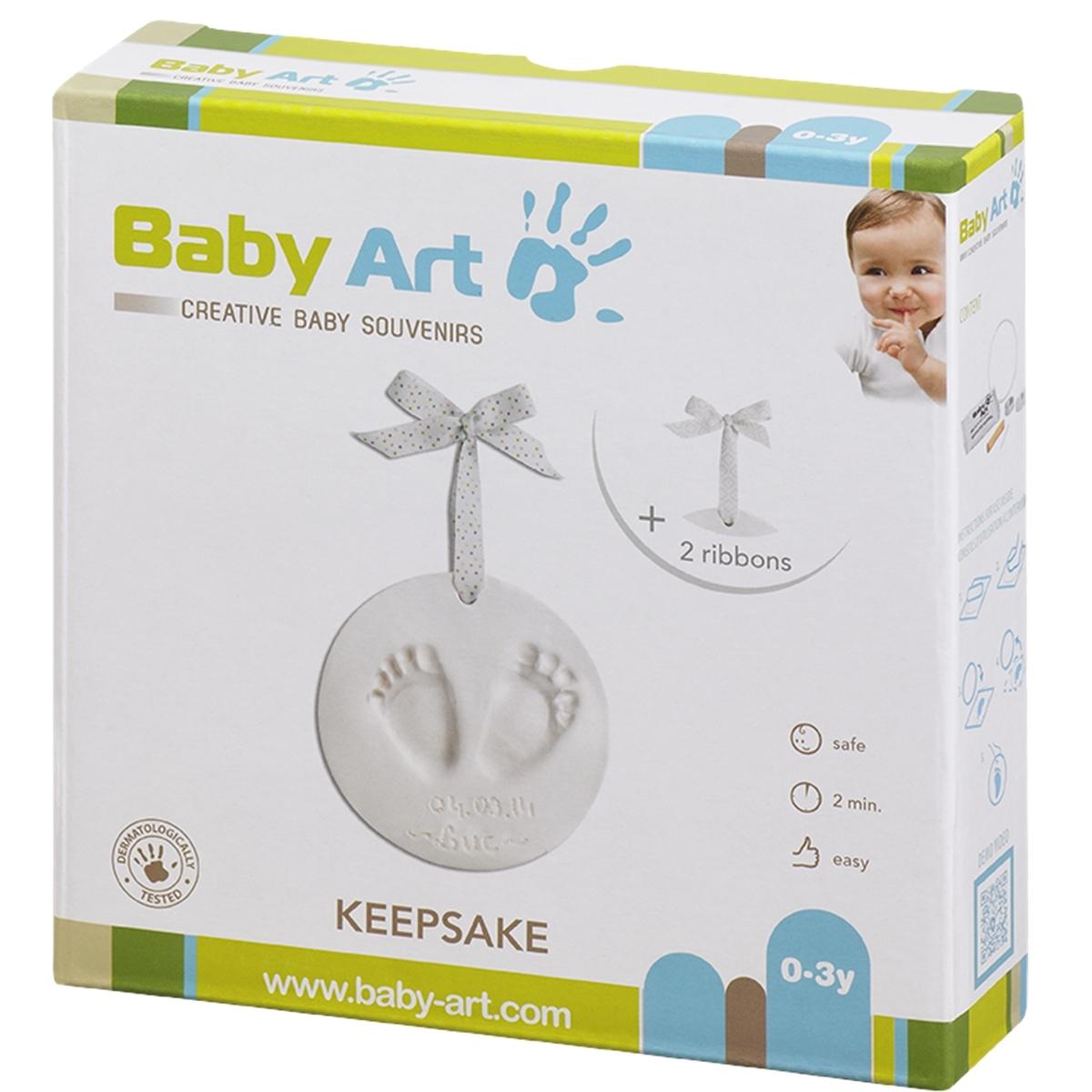 Подарок подвеска Baby Art Бэби Арт Кулон с отпечатком<br>