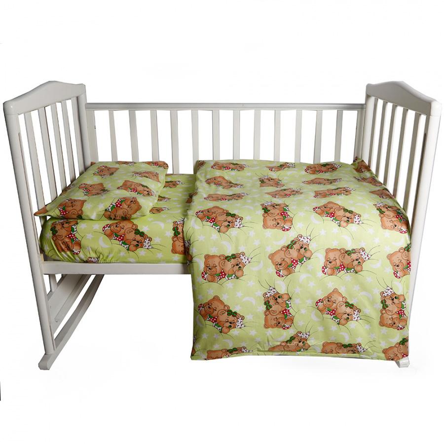 Комплект постельного белья детский Bambola Сони Зеленый<br>