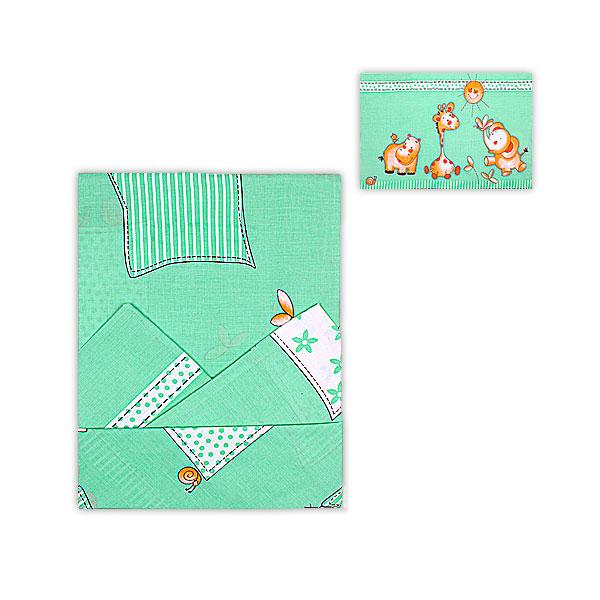 Комплект постельного белья детский Мотылек Зеленый<br>