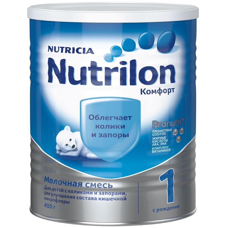 Заменитель Nutricia Nutrilon Комфорт 400 гр №1 (с 0 мес)<br>