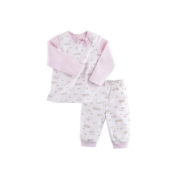 Пижама Наша Мама для девочки рост 104 белый<br>