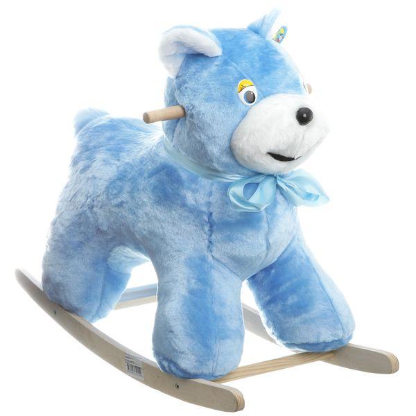 Качалка мягкая Тутси Медведь Голубой<br>