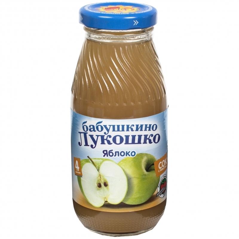 Сок Бабушкино лукошко 200 мл Яблоко с мякотью (с 4 мес)