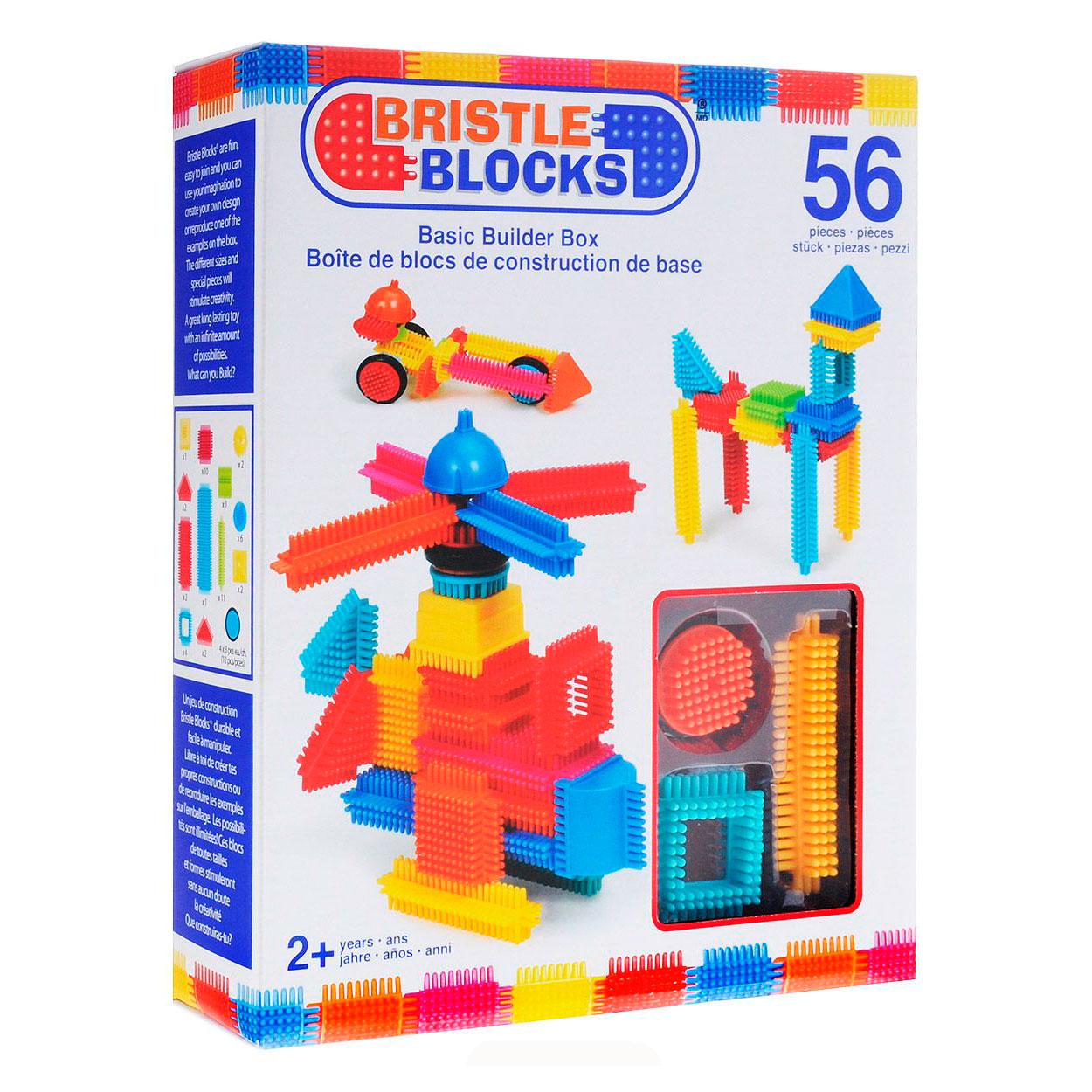 Конструктор Bristle Blocks 56 деталей в коробке<br>