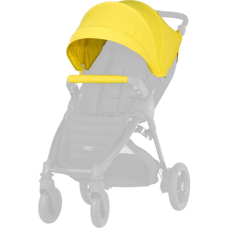 Капор для  коляски Britax Roemer B-Agile/B-Motion 4 Plus Sunshine Yellow<br>
