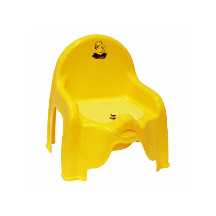 Горшок-стульчик Idea желтый<br>