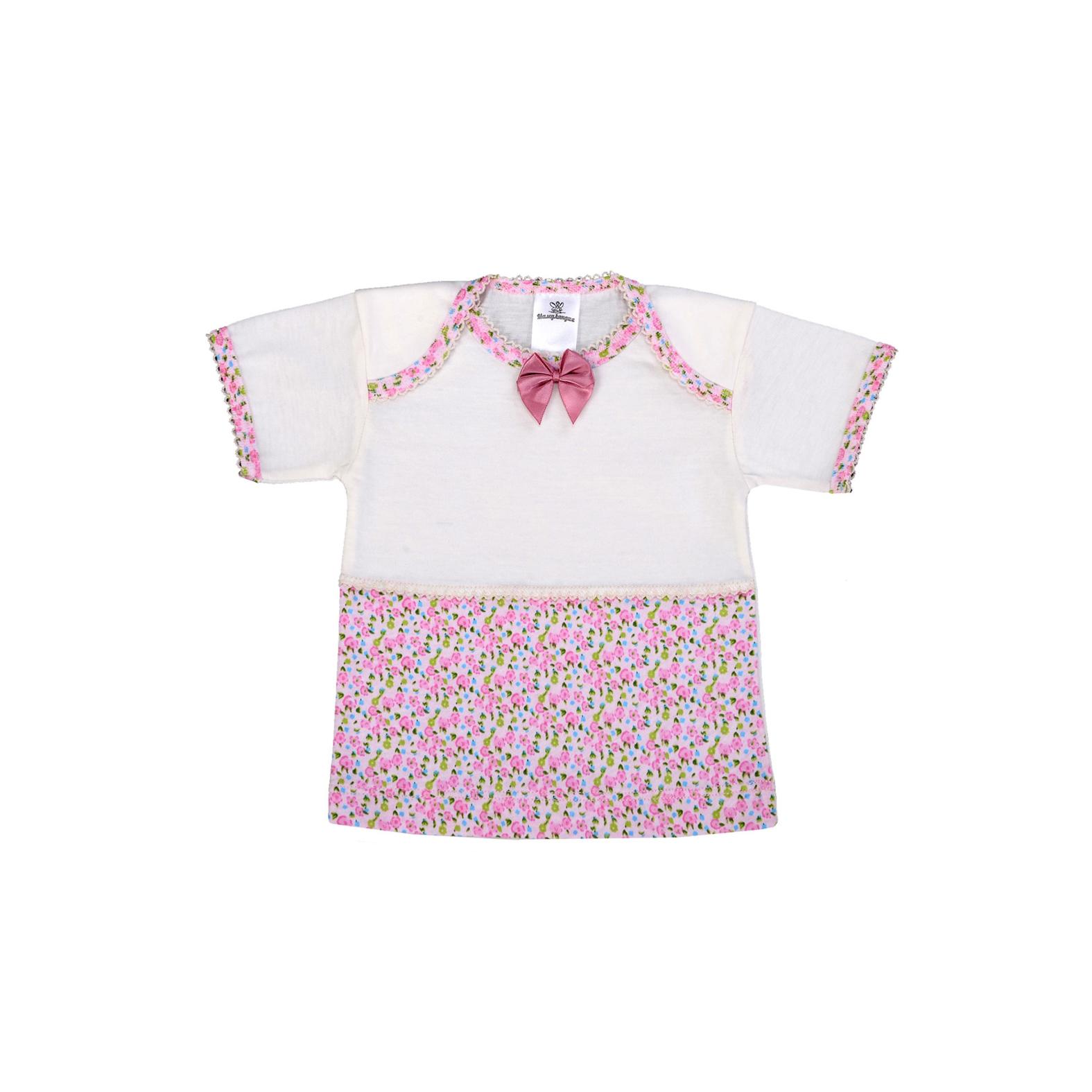 Футболка Мамуляндия Прованс для девочки розовый размер 56 см<br>