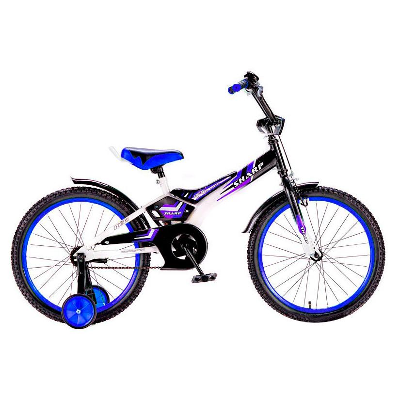 Велосипед двухколесный RT BA Sharp 16 KG1610 Синий<br>