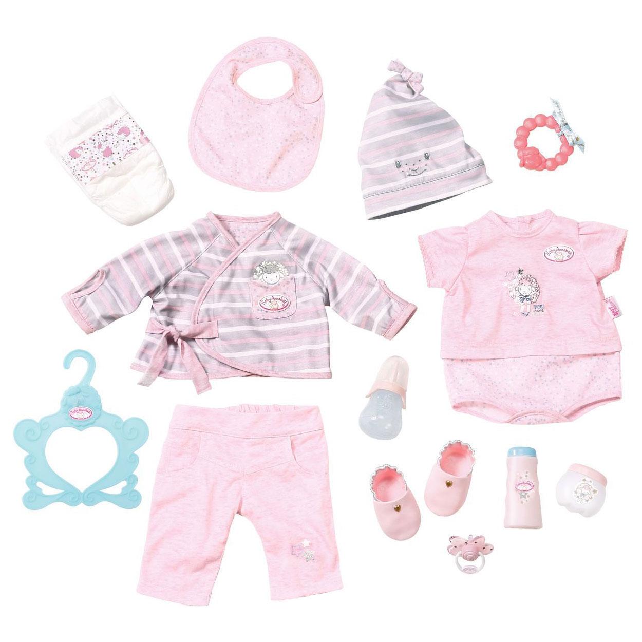 Одежда для кукол Zapf Creation Baby Annabell Супернабор c аксессуарами<br>