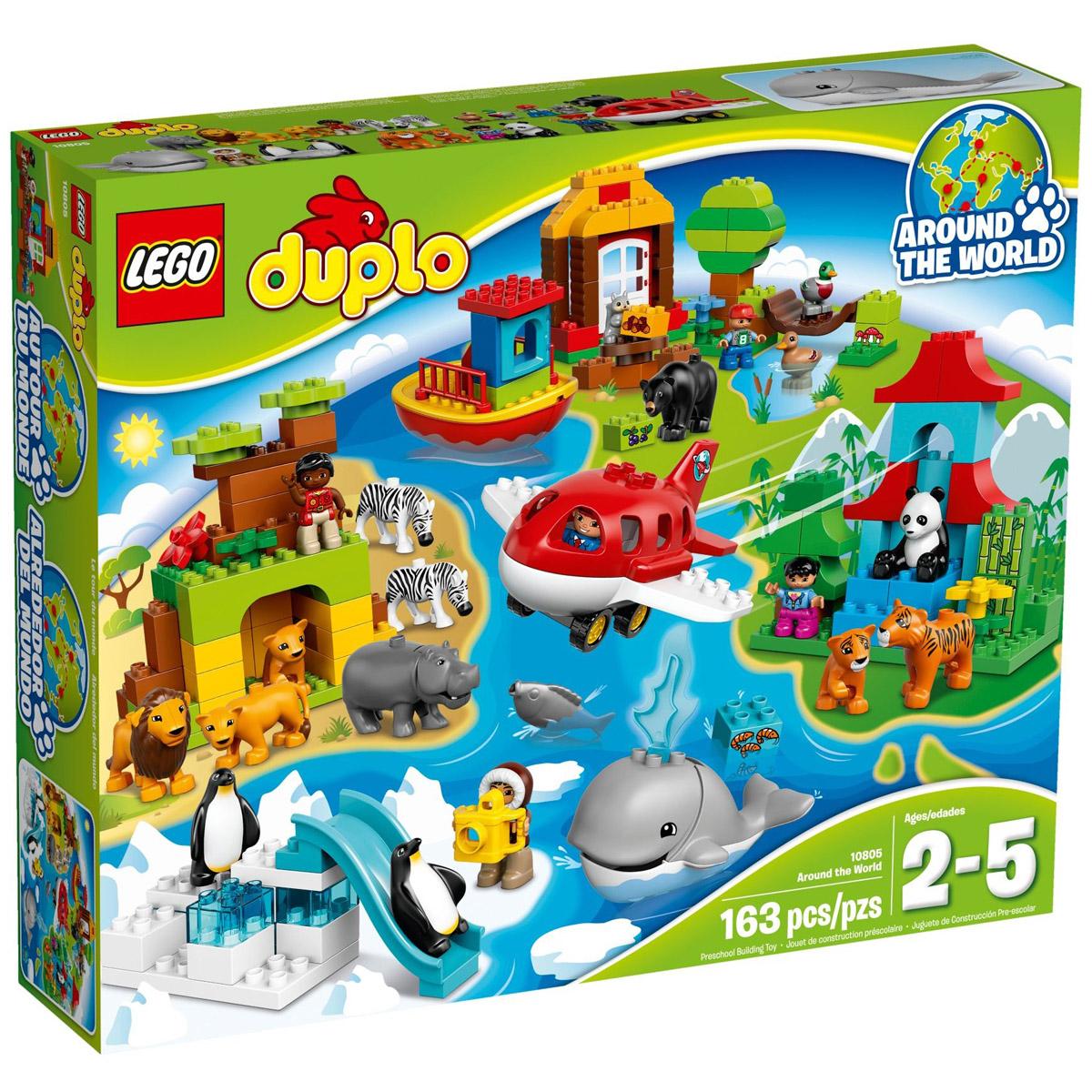 Конструктор LEGO Duplo 10805 Вокруг света В мире животных<br>