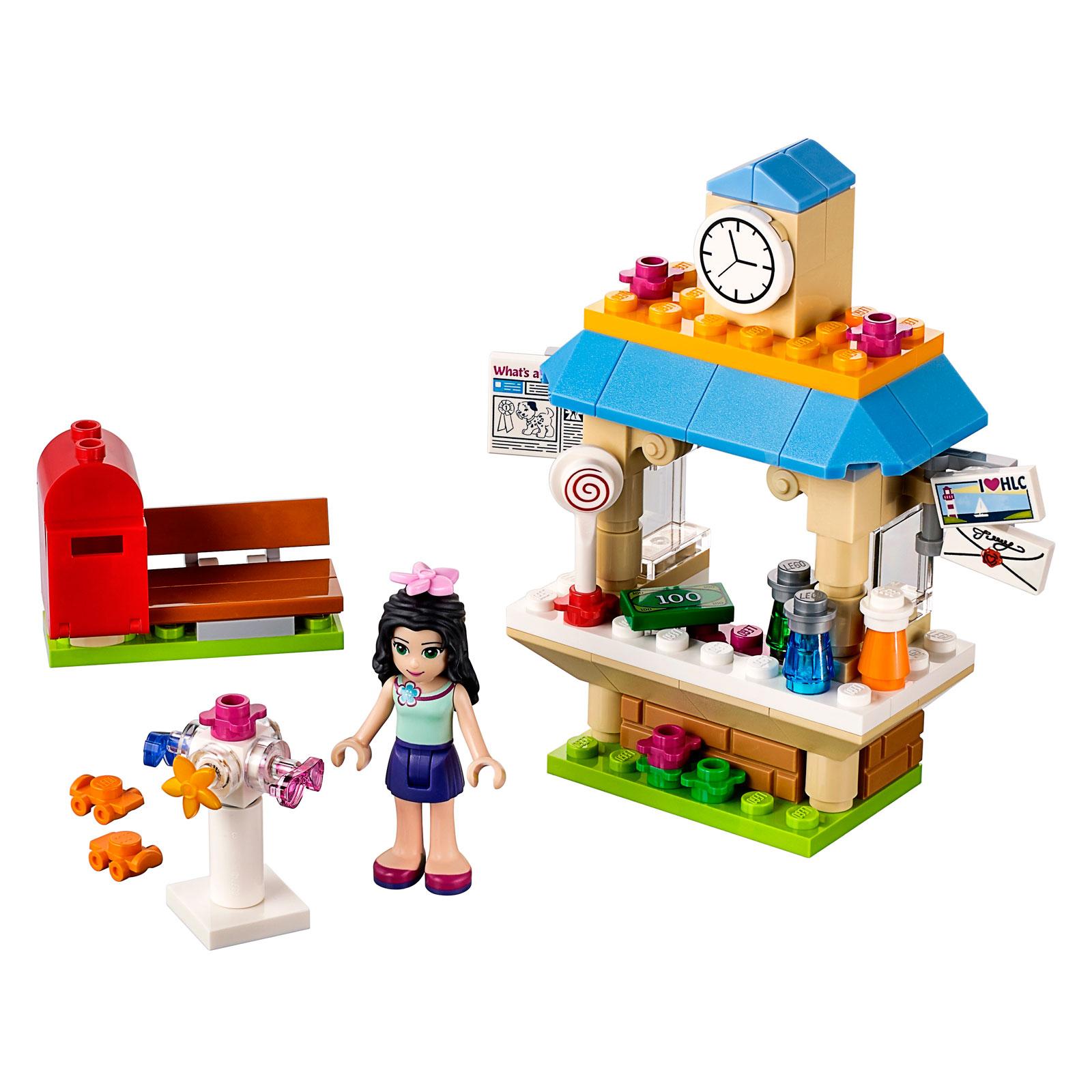 Конструктор LEGO Friends 41098 Туристический киоск Эммы<br>