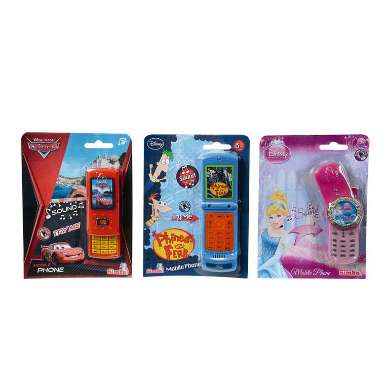 Телефон Simba Герои Диснея В ассортименте (3 вида)<br>