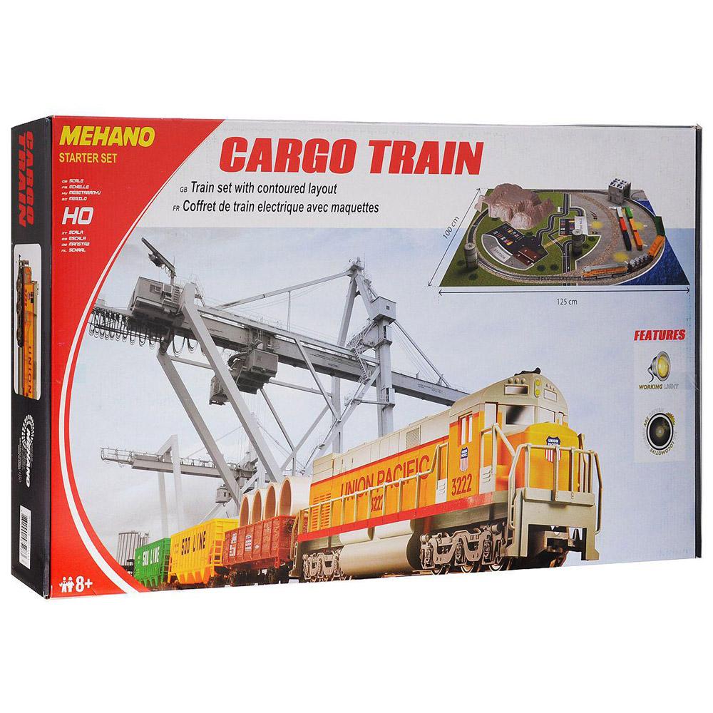 Железная дорога Mehano Cargo Train с ландшафтом<br>