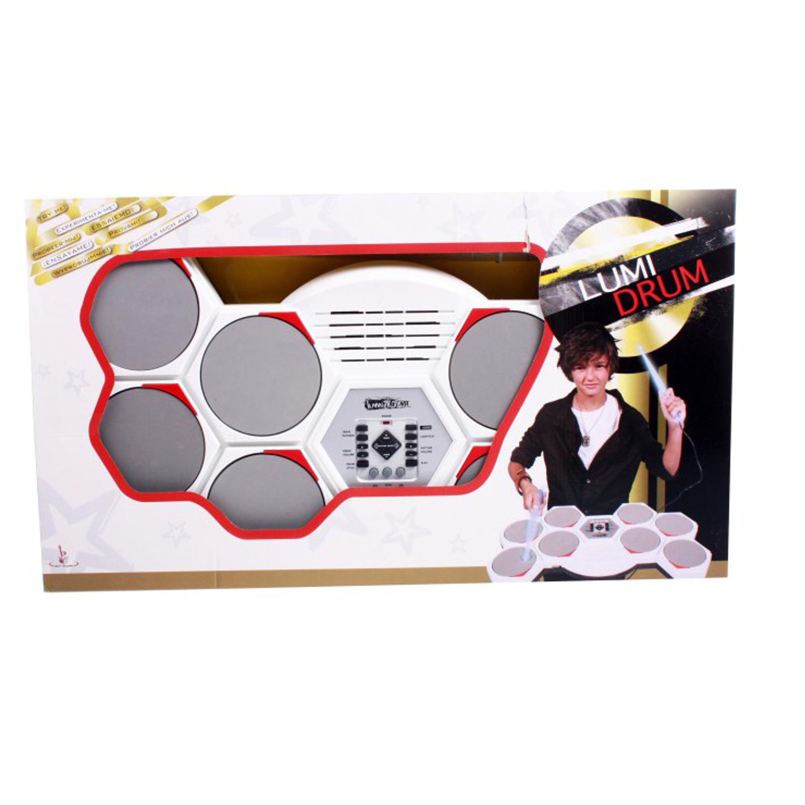 Музыкальный инструмент Potex Барабанная установка Lumi Drum<br>
