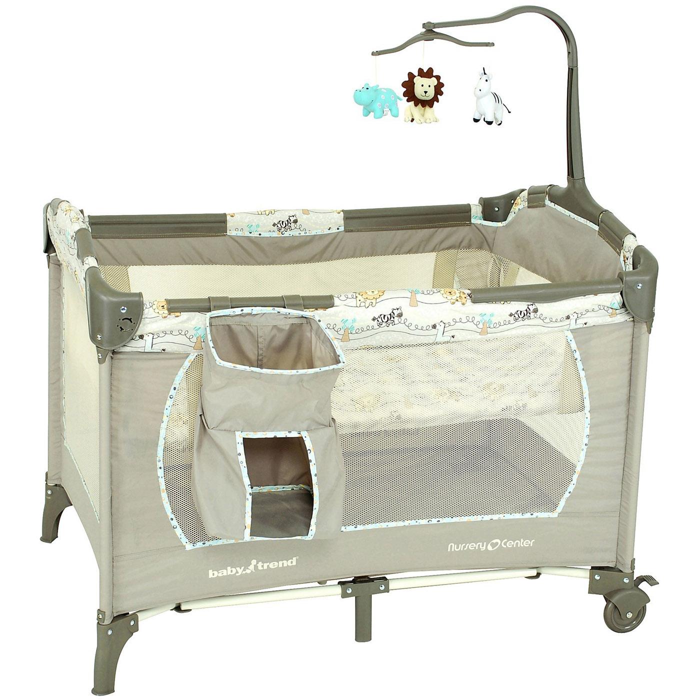 Манеж-кровать Baby Trend Львёнок<br>