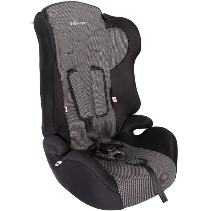 Автокресло Baby Care BC-513 Жирафик Карбон Серый<br>