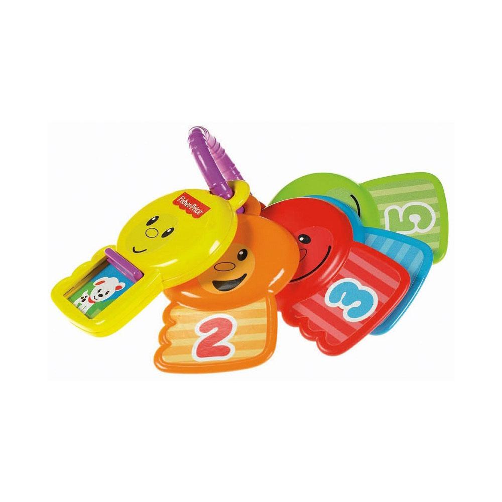 Развивающая игрушка Fisher Price Ключики считай и познавай с 6 мес.<br>
