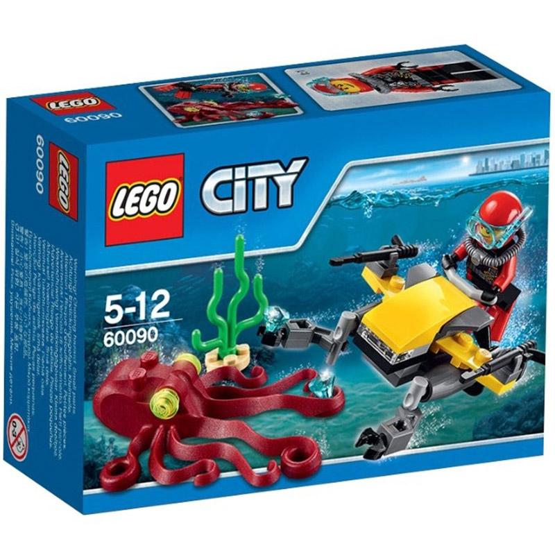 Конструктор LEGO City 60090 Глубоководный скутер<br>