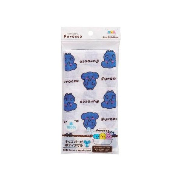Мочалка марлевая Kokubо Furocco Синий Слоненок (Kokubo)