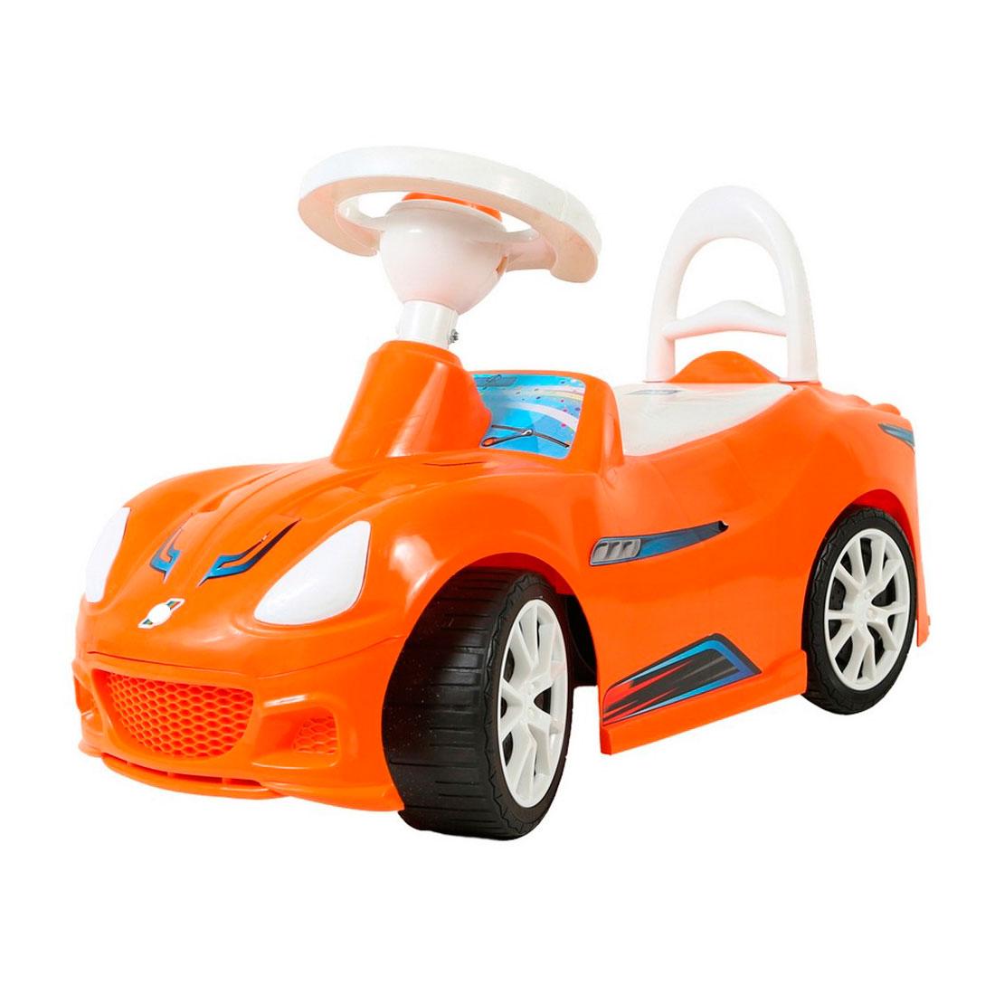 Каталка RT Спорткар ОР160 Оранжевая
