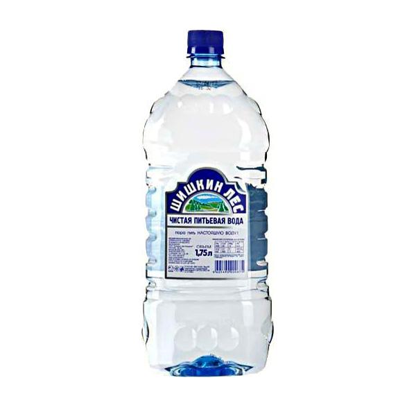 Вода питьевая Шишкин лес негазированная 1,75 л.
