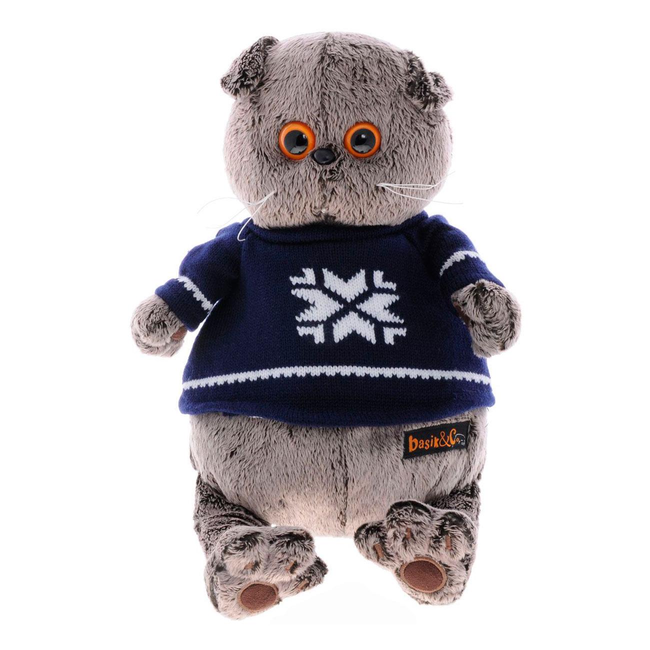Мягкая игрушка Basik&amp;amp;Ko Басик в свитере<br>