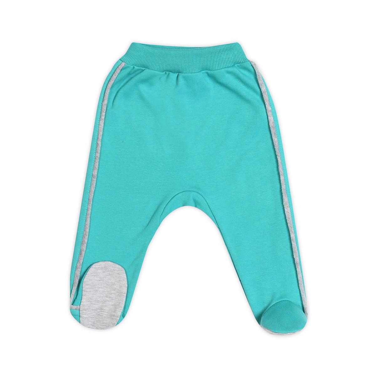 Ползунки с ножками Ёмаё Спорт (26-265) рост 80 ярко-бирюзовый<br>