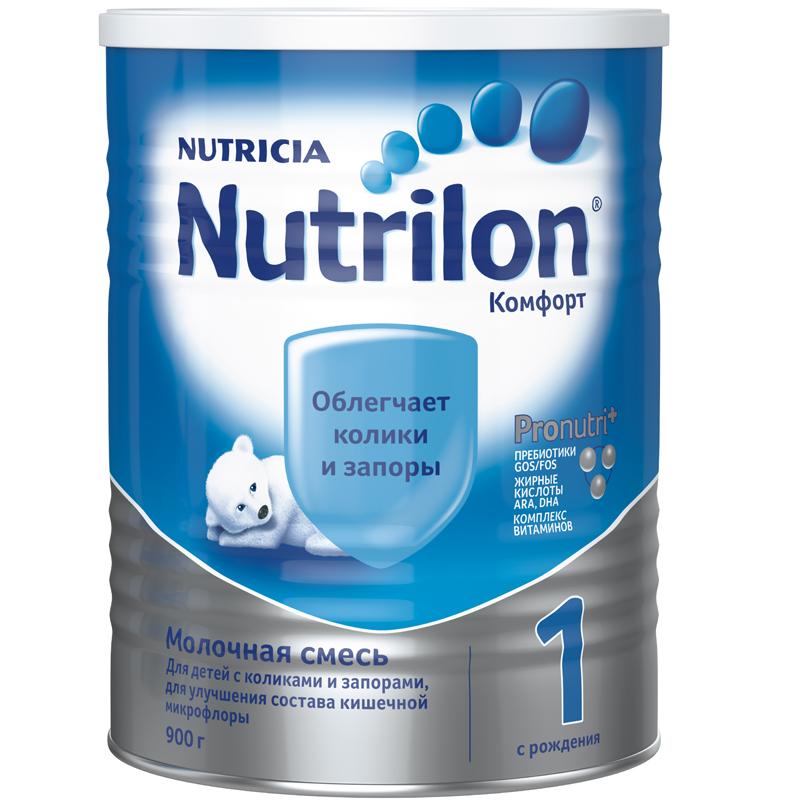 Заменитель Nutricia Nutrilon Комфорт 900 гр №1 (с 0 мес)<br>