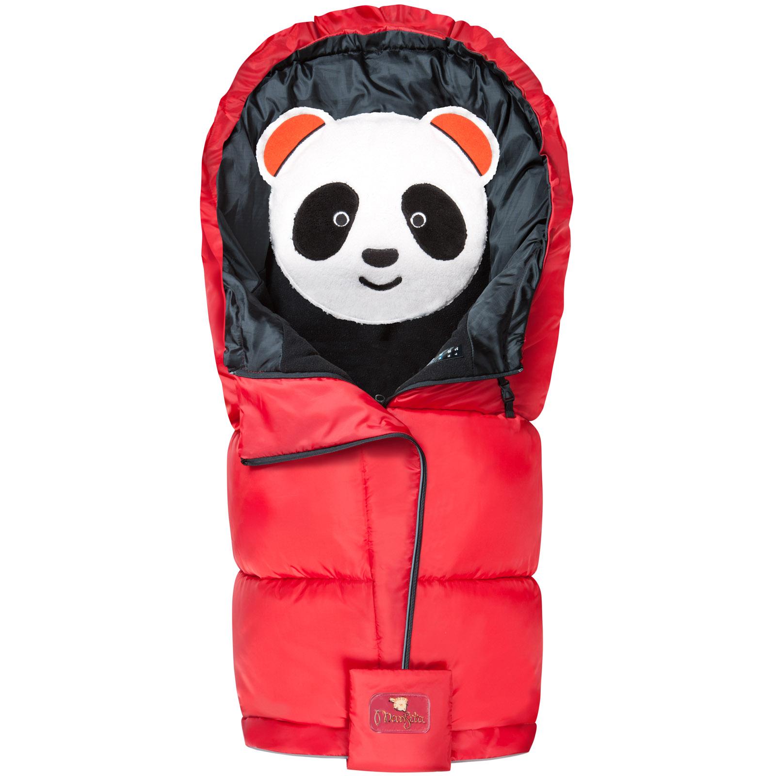 Конверт Mansita Panda флис Красный<br>