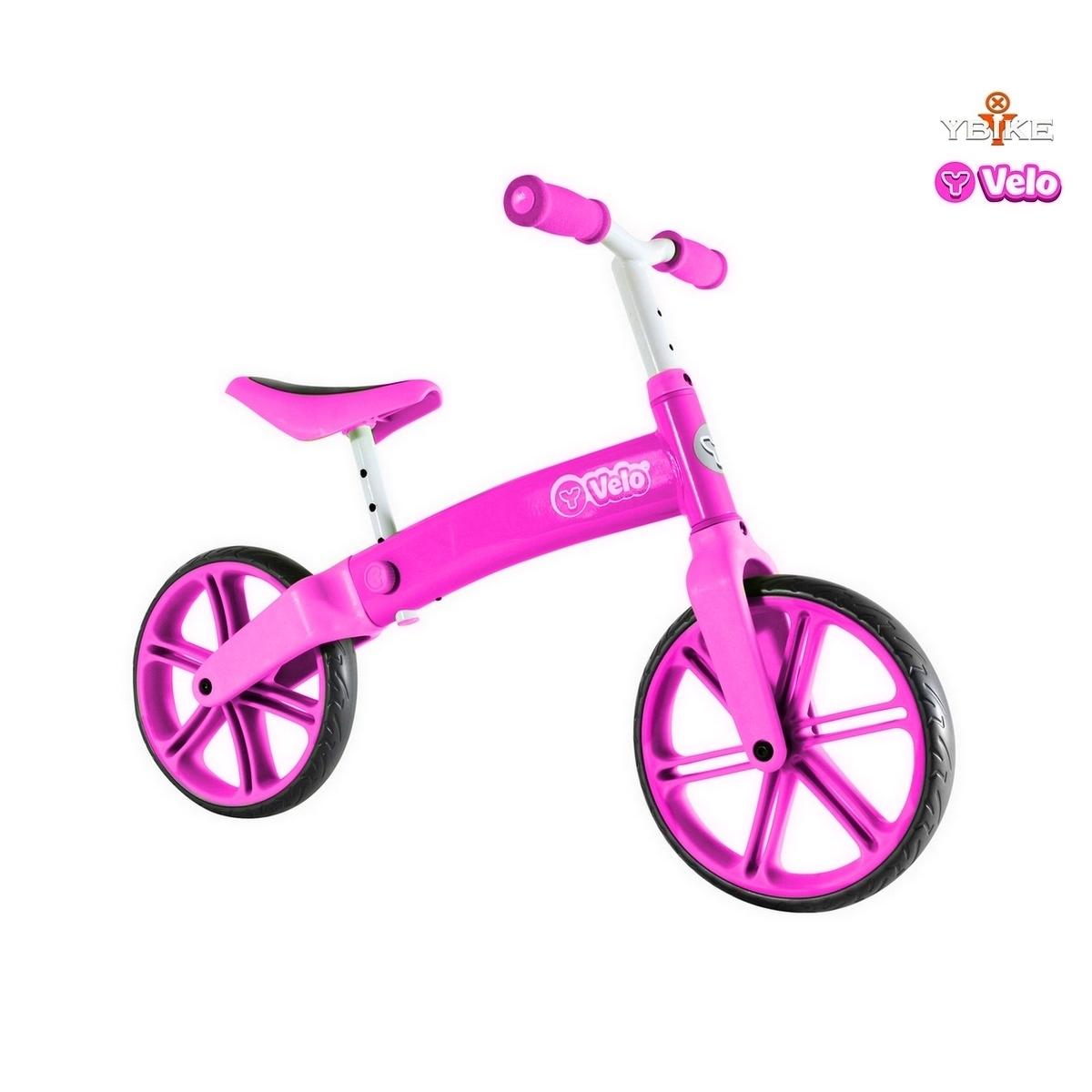 Беговел Y-Bike Y-volution Y-Velo Balance bike Pink<br>