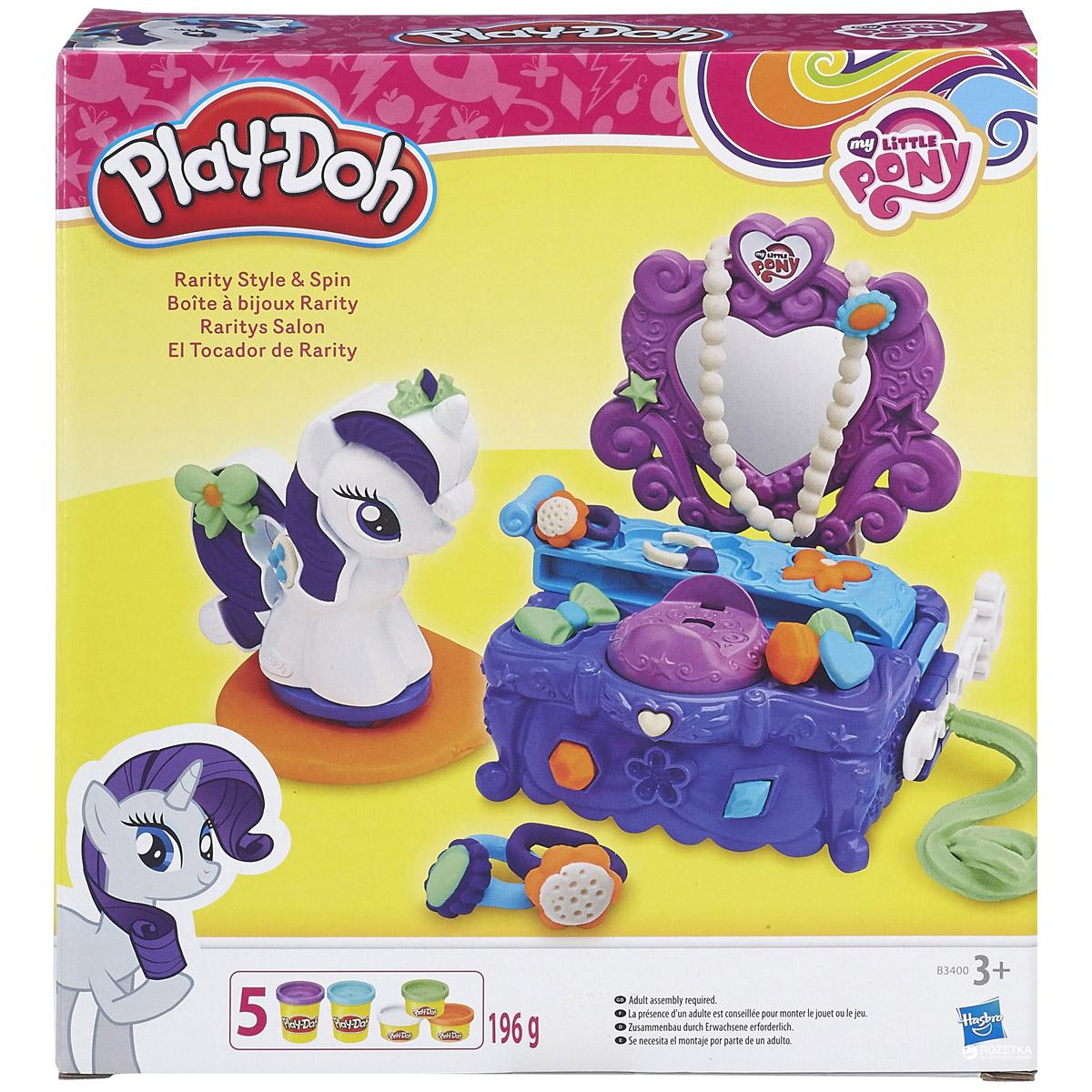 Игровой набор Play-Doh Туалетный столик Рарити<br>