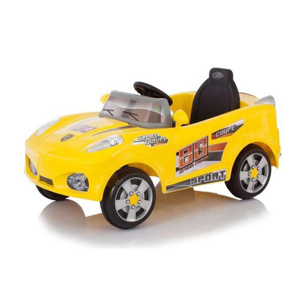Электромобиль Jetem Coupe Желтый<br>
