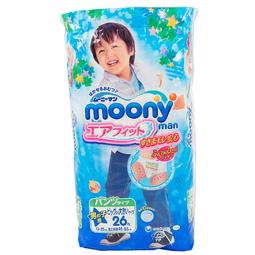 Трусики Moony для мальчиков 13-25 кг (26 шт) Размер SPB